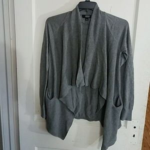 a.n.a Gray Cardigan Sweater Size S ANACard01
